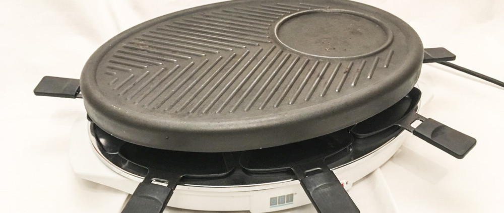 Raclette-Grill oval